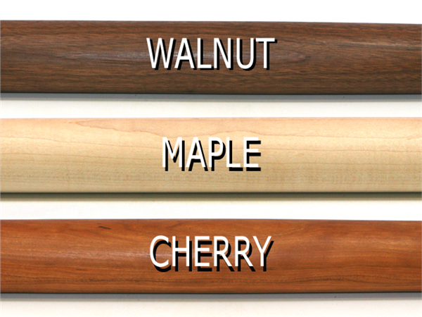 Vermont Rolling Pins Wood Types