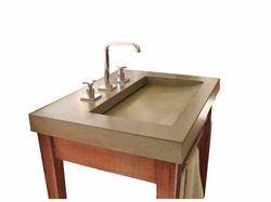 Picture of Jinn Concrete Ramp Vessel Sink