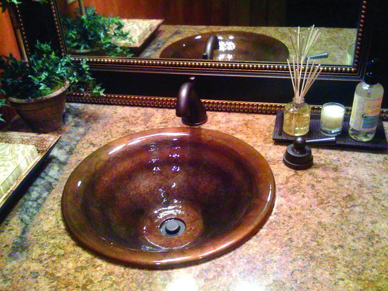 Picture of Vertigo Bronze Bath Sink