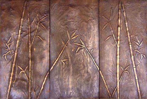 Bamboo 3 Piece Mural