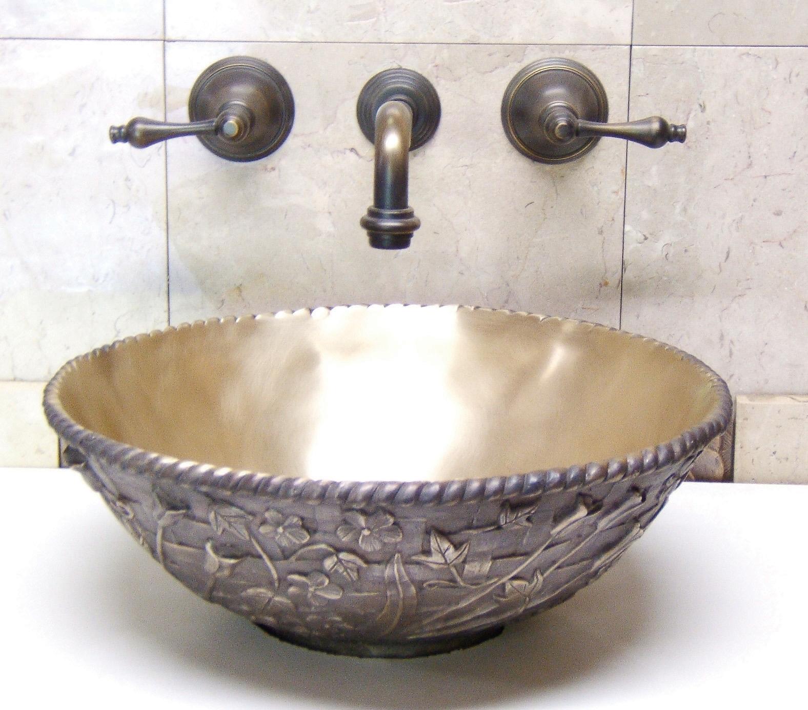 Picture of Kylie Bronze Bath Sink