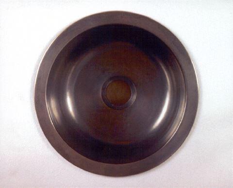"""12"""" Round Bronze Bar Sink"""