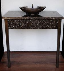 Picture of Suzette Cast Bronze Console