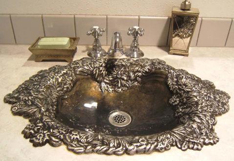 Bronze Sink | Bella Flor | Self Rimming Sink