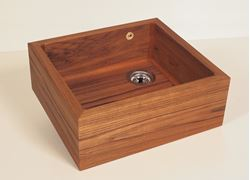 Teak Single Well Kitchen Sink