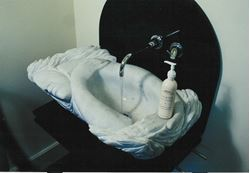 Picture of Serenity Carved Marble Sink