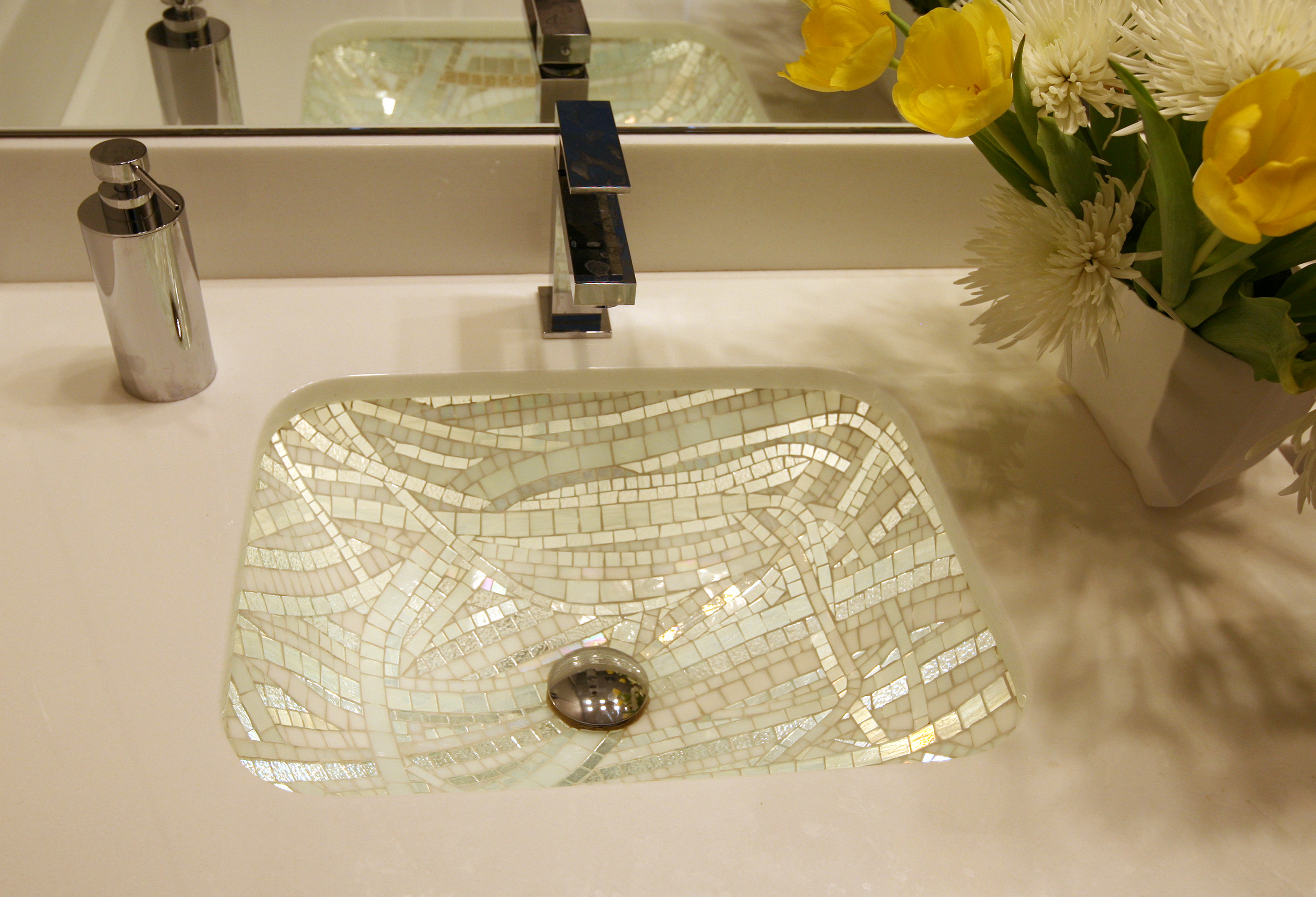 Picture of Ice Cube Mosaic Sink