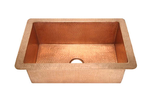 "30"" Copper Kitchen Sink by SoLuna"
