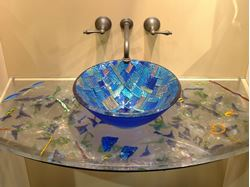 Picture of Cast Glass Vanity Top