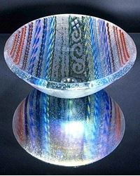 Clear Tapestry Vessel Sink