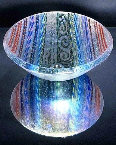 Clear Tapestry Vessel Sink
