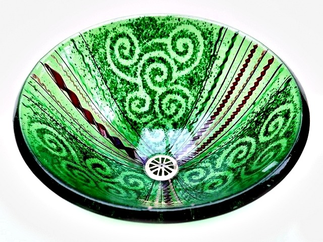 Picture of Green Venetian Sink