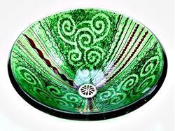 Green Venetian Sink