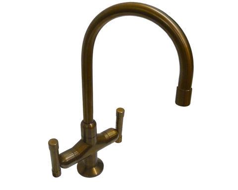 Sonoma Forge | Bar or Prep Faucet | Cuvee Gooseneck | Deck Mount