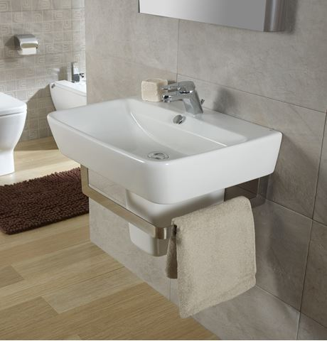Bissonnet Emma Italian Semi-Pedestal Sink
