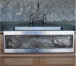 "30"" Chameleon Stainless Sink Square Edge"