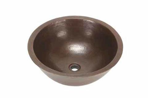 "18"" Colina Copper Vessel Sink by SoLuna"