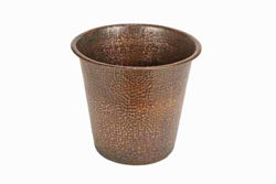 Copper Wastebasket By SoLuna