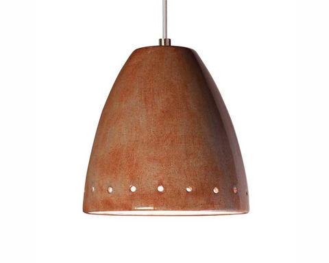 A19 Ceramic Pendant Light   Realm