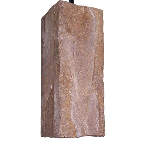 A19 Pendant Light | Stone
