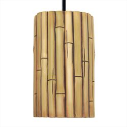 A19 Pendant Light | Bamboo