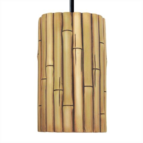 A19 Pendant Light | Bamboo