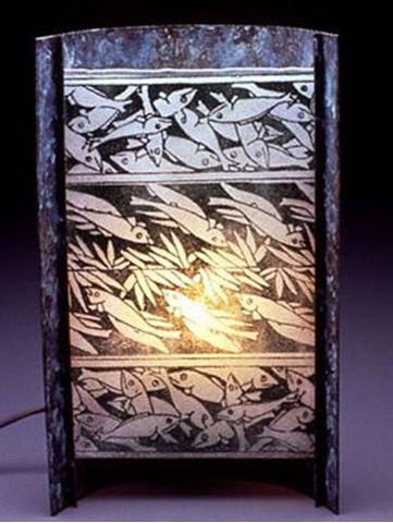 Unique Lamps | Japanese Fish