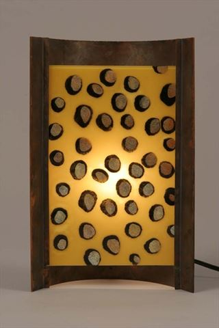 Unique Lamps | Amber Dots
