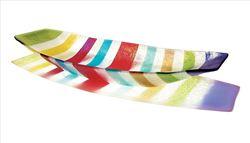 Picture of Multicolored Line Boat Bowl