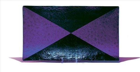 Purple Harlequin Platter