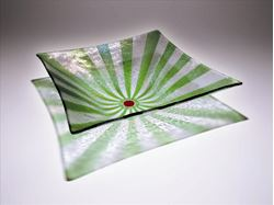 Picture of Square Green UR Hereware Bowl