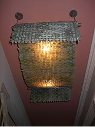 Picture of Woven Drape Lighting Fixture