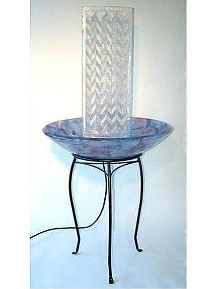Picture of Glass Fountain Sculpture