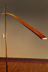 Unique Floor Lamp | Crane