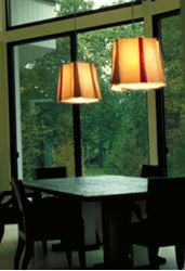 Picture of 3 Panel Pendant Chandelier