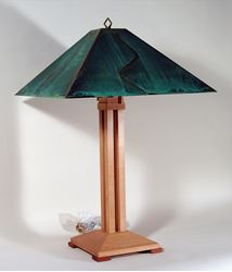 Auburn Pyramid Table Lamp