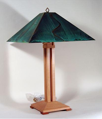 Auburn Pyramid Table Lamp