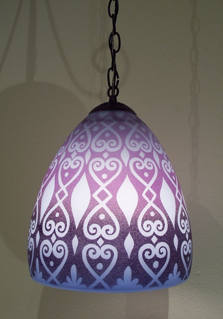 Picture of Pendant Light   India Glass