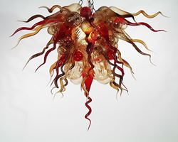 Blown Glass Chandelier 214