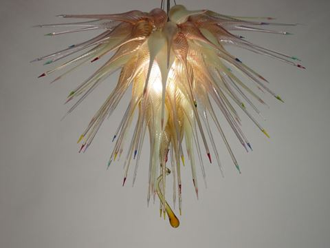 Blown Glass Chandelier 394