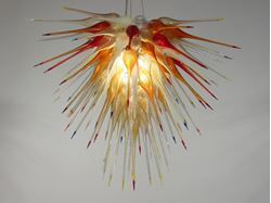 Blown Glass Chandelier 359