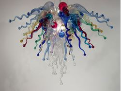 Blown Glass Chandelier 452