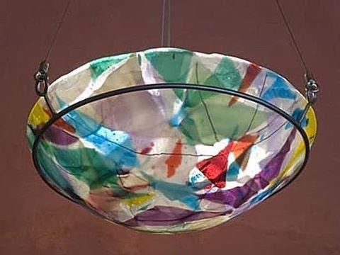 Scrap Glass Pendant