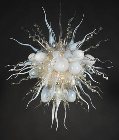 Blown Glass Chandelier 507