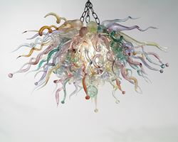 Blown Glass Chandelier 243