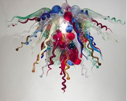 Blown Glass Chandelier 321