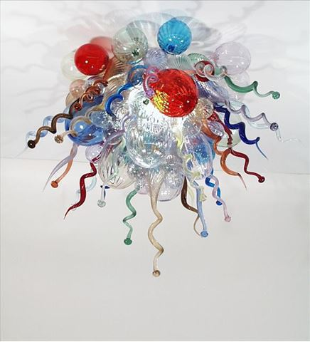 Blown Glass Chandelier 508