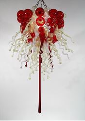 Blown Glass Chandelier 226