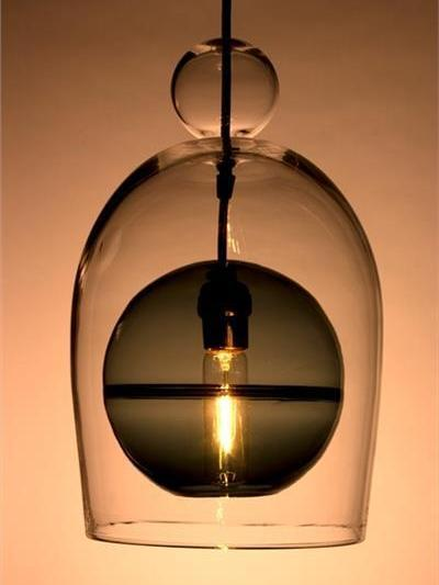 Picture of Pendant Light   Miro Veiled   Sphere with Ball