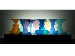 Picture of Happy Hour Glasscape Lighting Sculpture